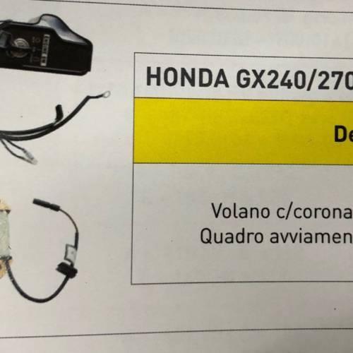 KIT AVVIAMENTO PER MOTORI HONDA TIPO GX 240 GX270 ANCHE PER MOTORI CINESI