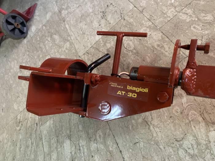 RIPUNTATORE COMPLETO ALDO BIAGIOLI MODELLO SD1 M PER MOTOCOLTIVATORE GOLDONI SUPER SPECIAL