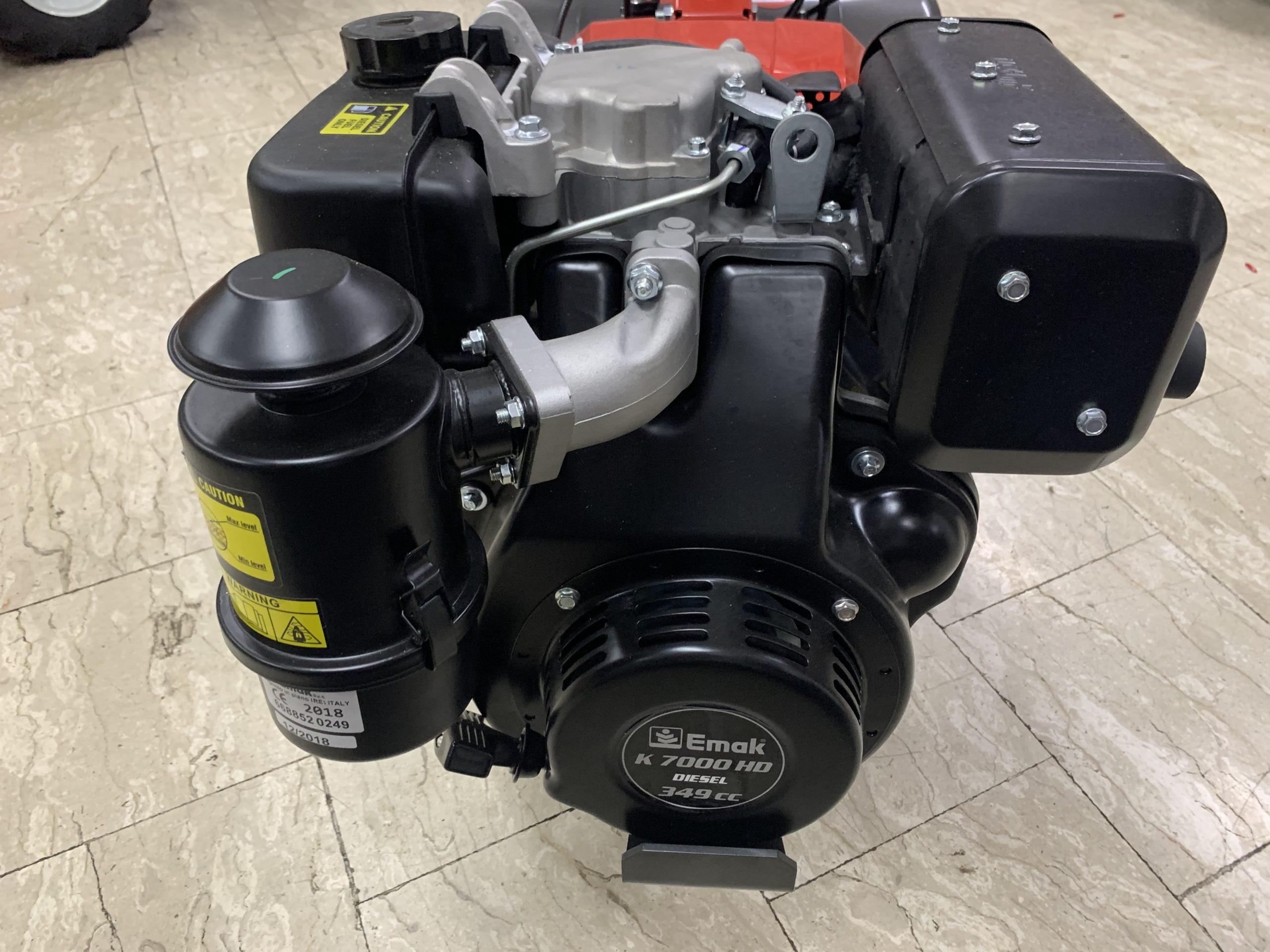 motocoltivatore nibbi modello brik 5s diesel