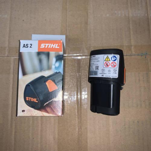 batteria stihl as2 per potatore gta 26 e tagliabordi hsa 26