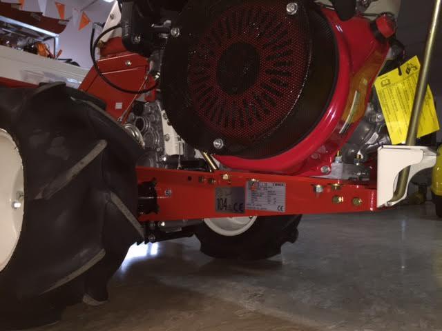 TRINCIASARMENTI OREC HR 802 H MOTORE HONDA GX 340 OHV