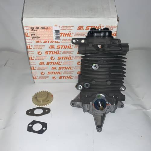 kit cilindro e pistone (short block) soffiatore stihl br 550-600-600 magnum St 42820200200